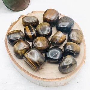 Tiger's Eye Polished Tumbled Stones - 1 Per Order